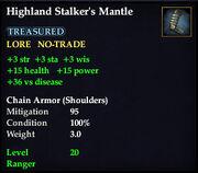 Highland Stalker's Mantle