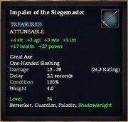 Impaler of the Siegemaster