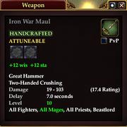 Iron War Maul