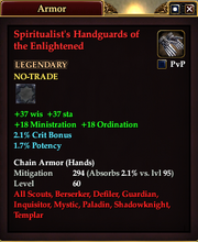 Spiritualist's Handguards of the Enlightened