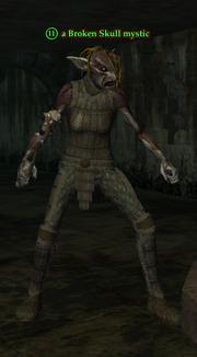 A Broken Skull mystic