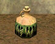 A jar (Visible)