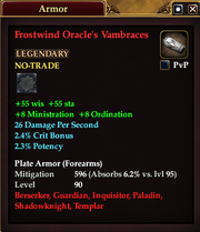 Frostwind Oracle's Vambraces