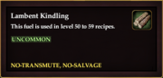 Lambent Kindling