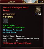 Sensei's Silverspun Wrist Wraps