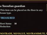 A Toxxulian guardian