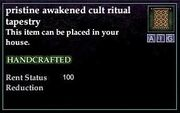 Awakened Cult Ritual Tapestry