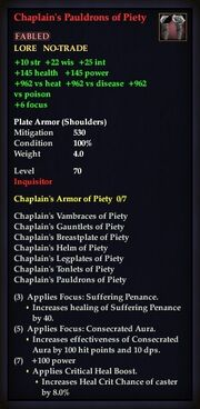 Chaplain's Pauldrons of Piety