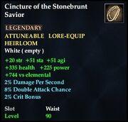Cincture of the Stonebrunt Savior