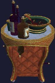 Legend's Wine Cart (Visible)