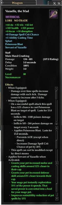 Necromancer Epic Weapon Timeline | EverQuest 2 Wiki | FANDOM