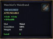 Warchief's Waistband