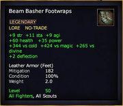 Beam Basher Footwraps