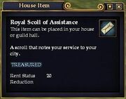 Royal Scroll of Assistance