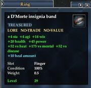 A D'Morte insignia band