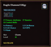 Fragile Diamond Effigy