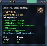 Immortal Brigade Ring