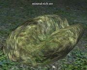 Mineral-rich ore
