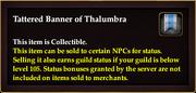 Tattered Banner of Thalumbra