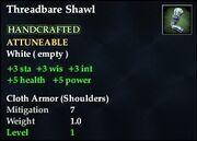 Threadbare Shawl