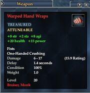 Warped Hand Wraps
