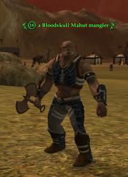 A Bloodskull Mahut mangler