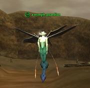 A nymph guardian