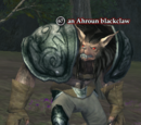An Ahroun blackclaw