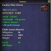 Cackler Hide Gloves