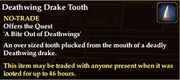 Deathwing Drake Tooth