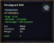 Dreadguard Belt
