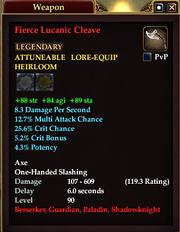 Fierce Lucanic Cleave