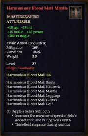 Harmonious Blood Mail Mantle