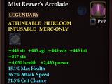 Mist Reaver's Accolade