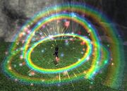 Rainbow Tinkerfest Firework (Visible)