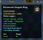Ravenscale Insignia Ring