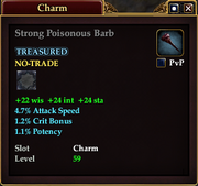 Strong Poisonous Barb