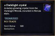 A Darklight crystal