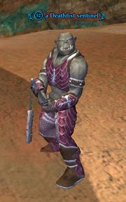 A Deathfist sentinel