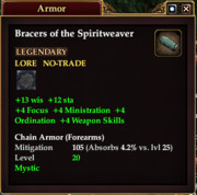 Bracers of the Spiritweaver