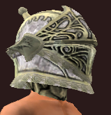 Dragoon's Iron Reinforced Helmet (Equipped)