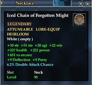 Iced Chain of Forgotten Might