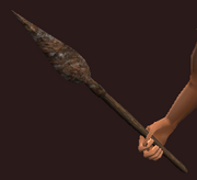 Iron Short Spear (Equipped)