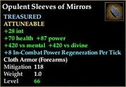 Opulent Sleeves of Mirrors