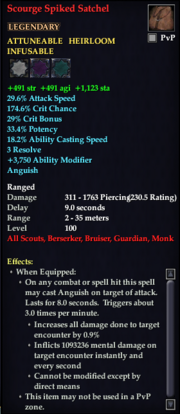 Scourge Spiked Satchel