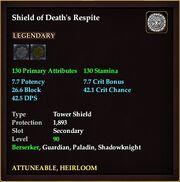 Shield of Death's Respite