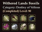 Withered Lands Fossils