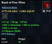 Band of Fine Wine