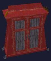 Gilded Ironwood Dresser (Visible)