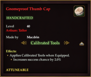 Gnomeproof Thumb Cap